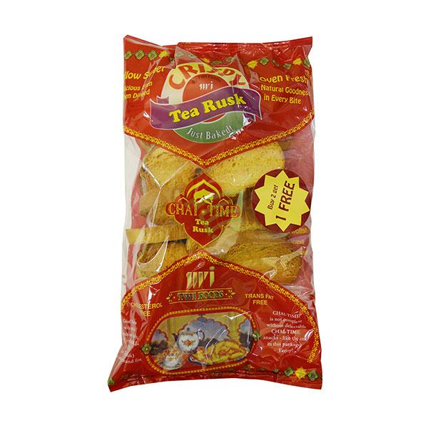 Indian grocery online - Crispy Tea Rusk 200g - Cartly