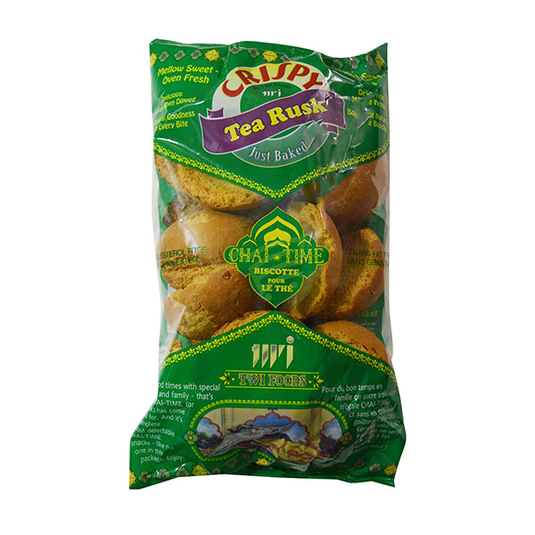 Indian grocery online - Crispy Tea Rusk Round 200G - Cartly