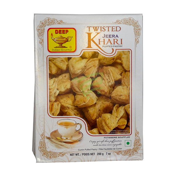 Indian grocery online - Deep Twisted Jeera Khari 200G - Cartly