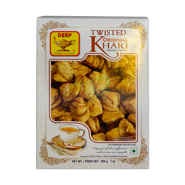 Indian grocery online - Deep Twisted Original Khari 200G - Cartly