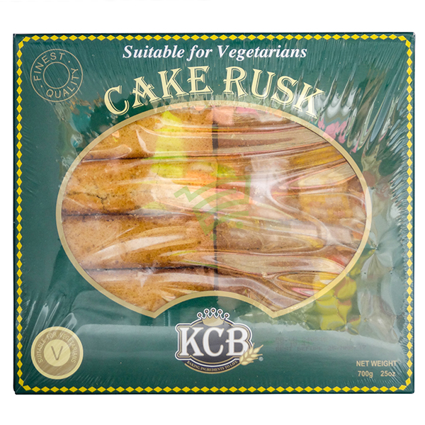 Indian grocery online - KCB Cake Rusk No Egg 700G - Cartly