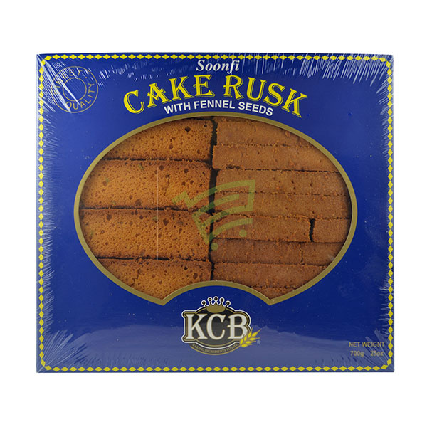 Indian grocery online - KCB Soonfi Cake Rusk 700G - Cartly