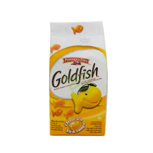 Indian grocery online - Goldfish Cheese Trio Crackers 200g - Cartly