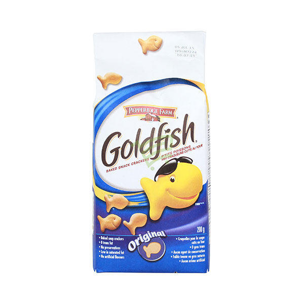 Indian grocery online - Goldfish Baked Snack Crackers 200G - Cartly