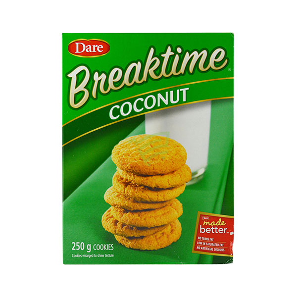 Indian grocery online - Dare Coconut Cookies 250G - Cartly