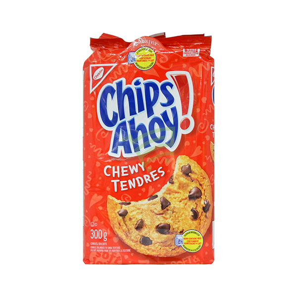 Indian grocery online - Chips Ahoy Chewy Tenders Cookies 300G - Cartly