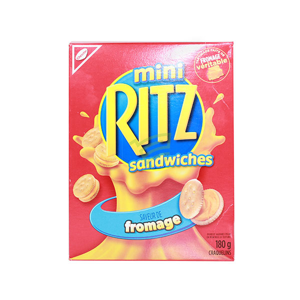 Indian grocery online - Ritz Sandwiches 180G - Cartly