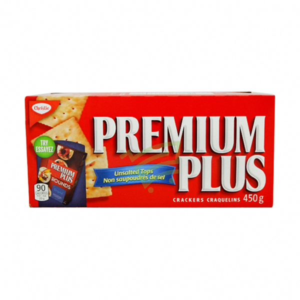 Indian grocery online - Premium unsalted crackers 450g - Cartly