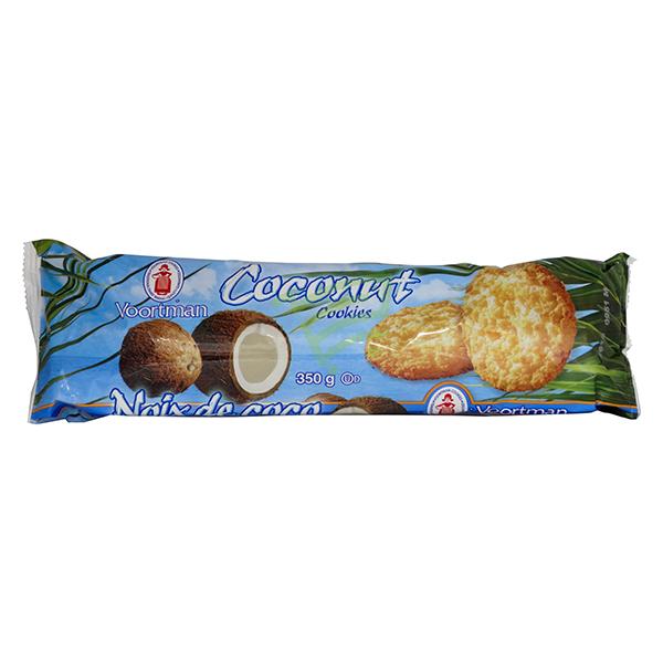 Indian grocery online - Voortman Coconut Cookies 350G - Cartly