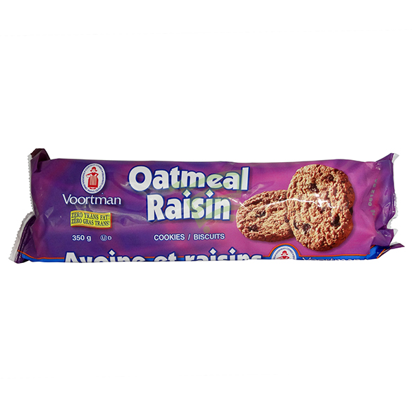 Indian grocery online - Voortman Oatmeal Raisin Cookies 350G - Cartly