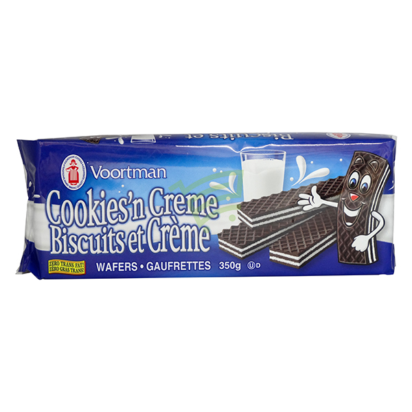 Indian grocery online - Voortman Wafers Crème 350G - Cartly