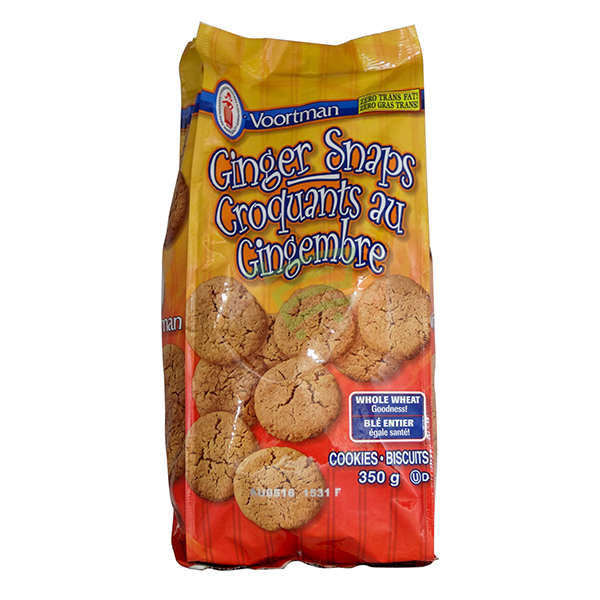 Indian grocery online - Voortman Ginger Snap Cookies 350G - Cartly
