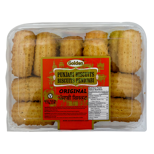 Indian grocery online - Golden Punjabi Cookies 2.5lb - Cartly
