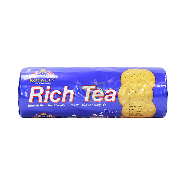 Indian grocery online - Royalty Rich Tea Biscuits 300G - Cartly
