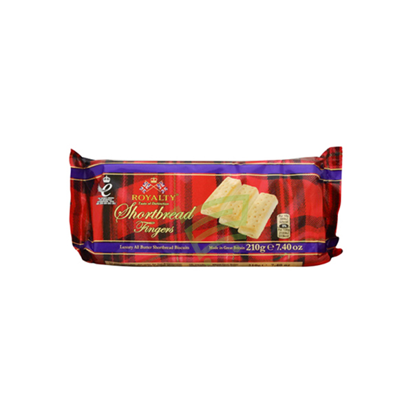 Indian grocery online - Royalty Shortbread fingers 210g - Cartly
