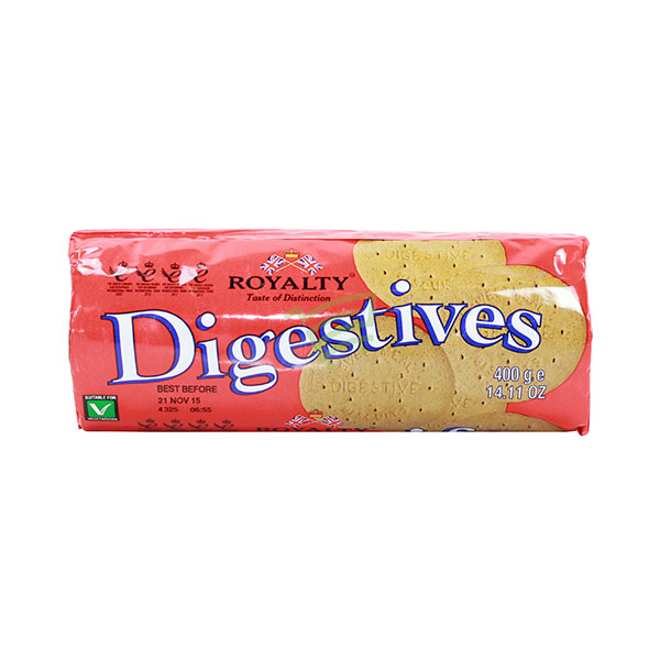 Indian grocery online - Royalty Digestive Biscuits 400G - Cartly