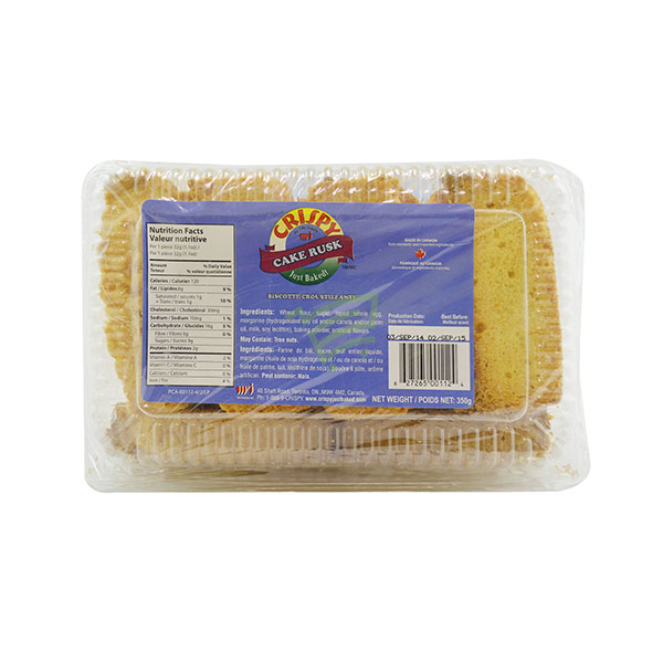 Indian grocery online - Crispy Cake Rusk 350G - Cartly