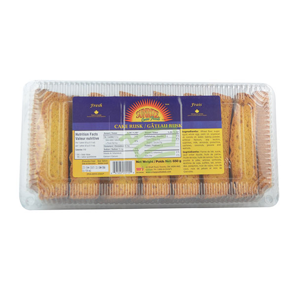 Indian grocery online - Sunrise Cake Rusk 650G - Cartly