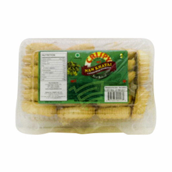 Indian grocery online - Crispy Nan Khatai Cookies 350g - Cartly