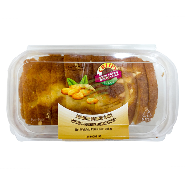 Indian grocery online - Crispy Almond Pound Cake 368G - Cartly