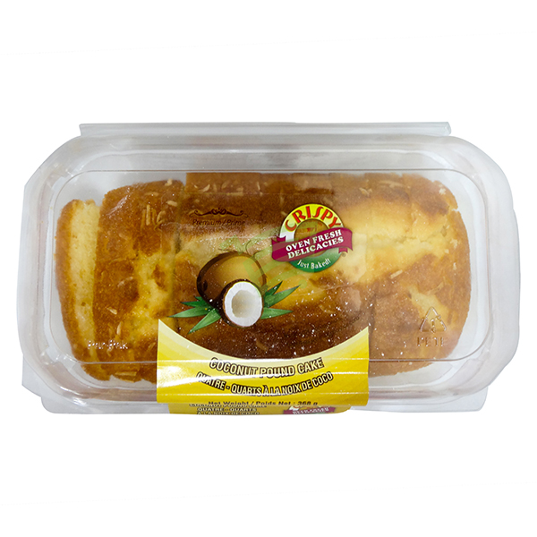 Indian grocery online - Crispy Coconut Pound Cake 368G - Cartly