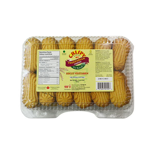 Indian grocery online - Crispy Vegetarian Cookies 800G - Cartly