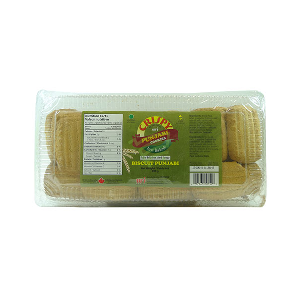 Indian grocery online - Crispy Punjabi Cookies 800G - Cartly