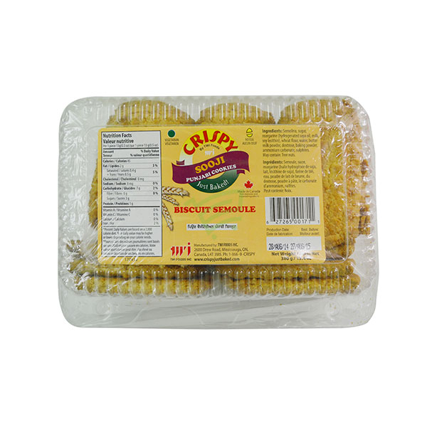 Indian grocery online - Crispy Sooji Punjabi Cookies 380G - Cartly