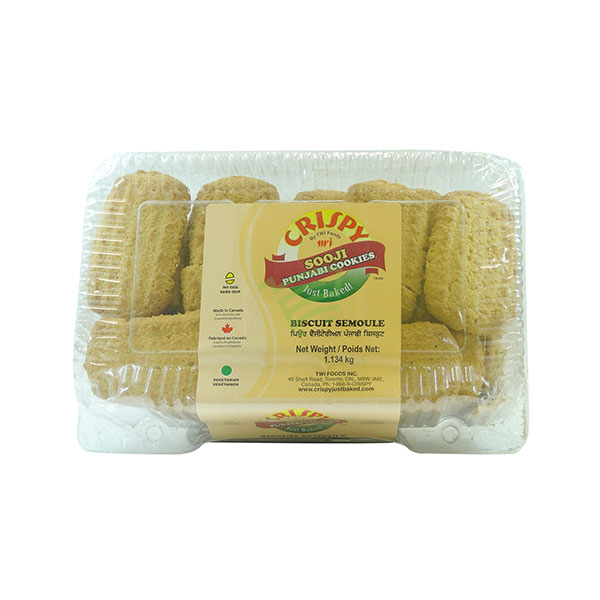Indian grocery online - Crispy Sooji Cookies 2lb - Cartly