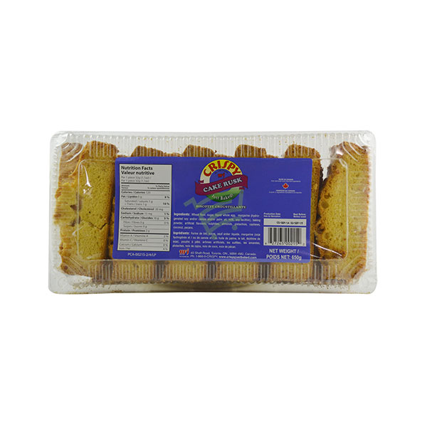 Indian grocery online - Crispy Cake Rusk 650G - Cartly