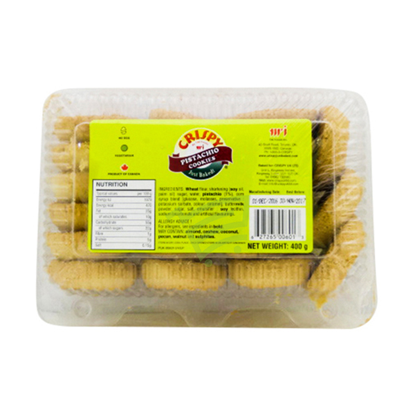 Indian grocery online - Crispy Pista cookie400g - Cartly