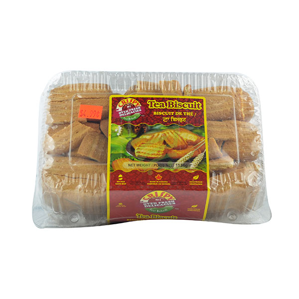 Indian grocery online - Crispy Tea Biscuits 1134G - Cartly
