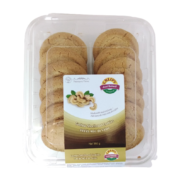 Indian grocery online - Crispy Cashew Cookies 350G - Cartly