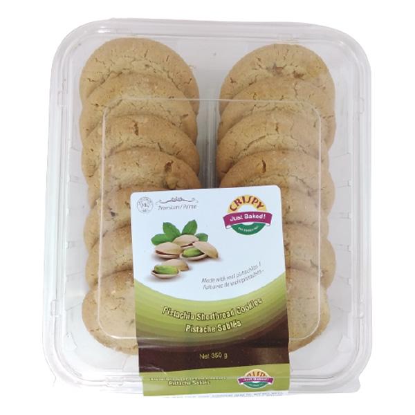 Indian grocery online - Crispy Pistachio Cookies 350G  - Cartly