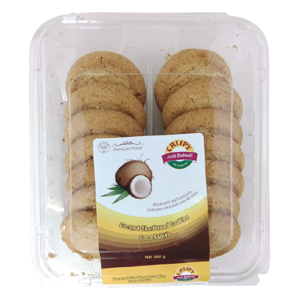 Indian grocery online - Crispy Coconut Cookies 350G  - Cartly