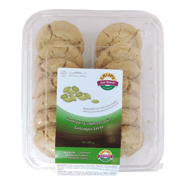 Indian grocery online - Crispy Cardamom Cookies 350G - Cartly
