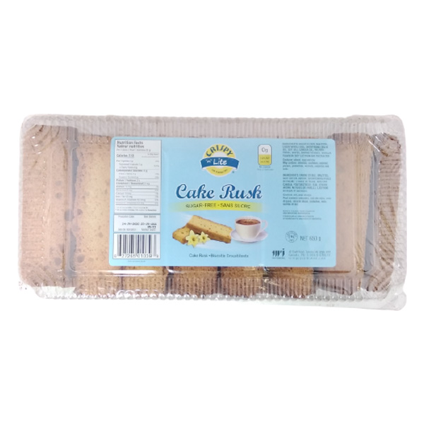 Indian grocery online - Crispy Cake Rusk Sugar Free 650 gms - Cartly