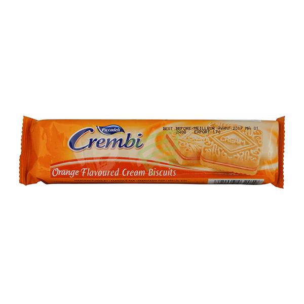 Indian grocery online - Crembi Orange Flvr Cookies - Cartly