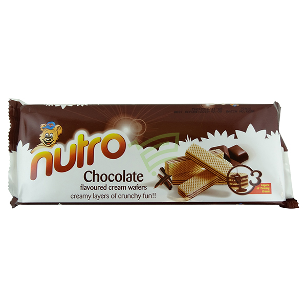 Indian grocery online - Nutro Chocolate Wafers 75g - Cartly