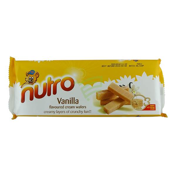 Indian grocery online - Nutro Vanilla Waffers 75g - Cartly