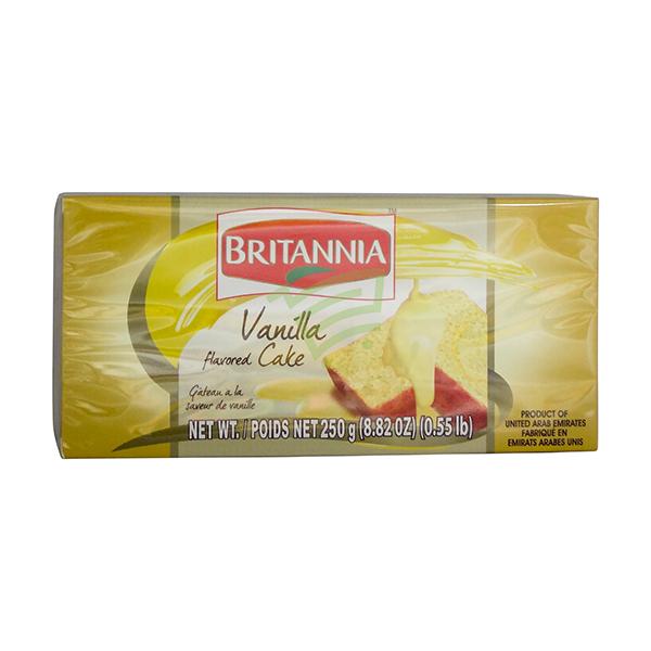 Indian grocery online - Britannia Vanilla Cake 250G - Cartly