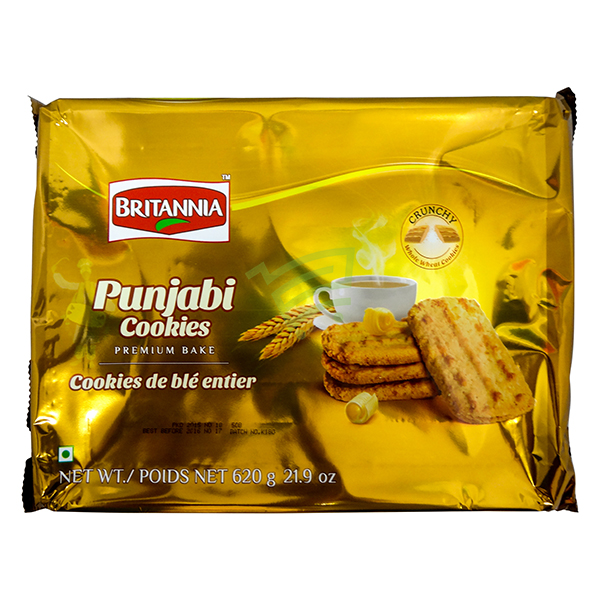 Indian grocery online - Britannia Punjabi Cookies 620g - Cartly