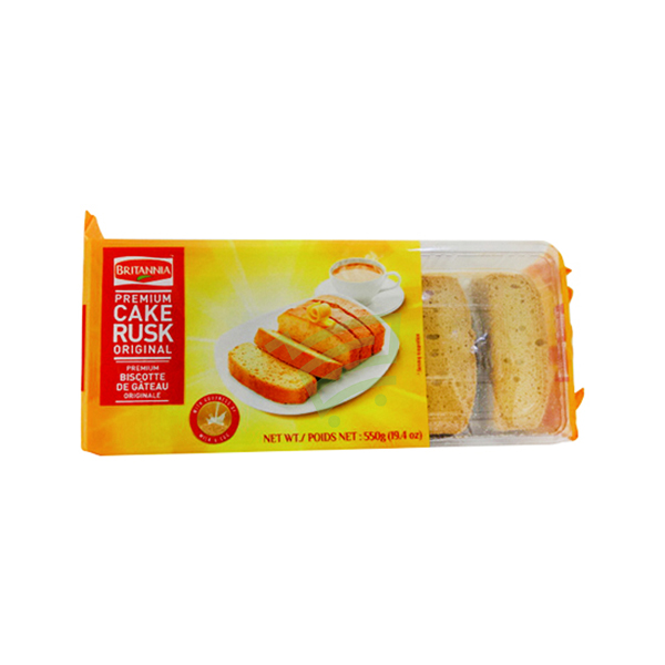 Indian grocery online - Brit.Cake Rusk 550g - Cartly