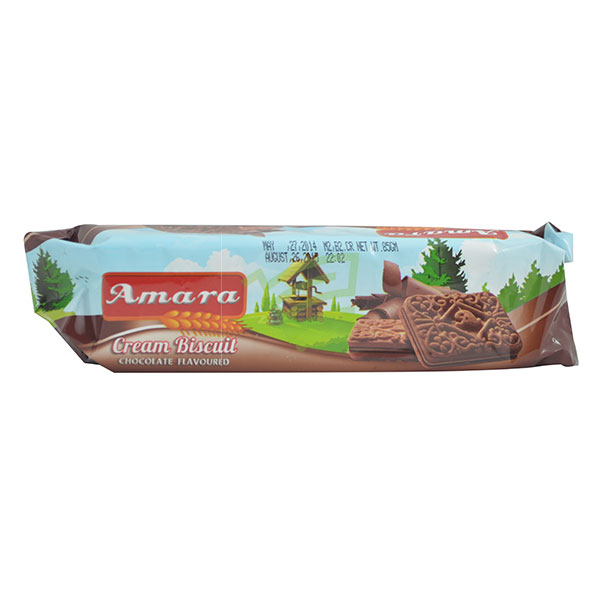 Indian grocery online - Amara Chocolate Biscuit 85G - Cartly