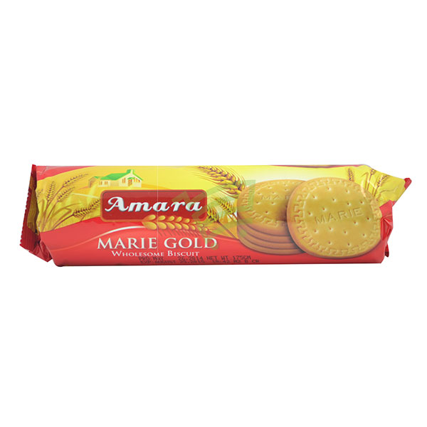 Indian grocery online - Amara Marie Gold Biscuits 175G - Cartly
