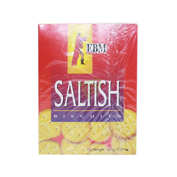 Indian grocery online - EBM Saltish Biscuits 112G - Cartly