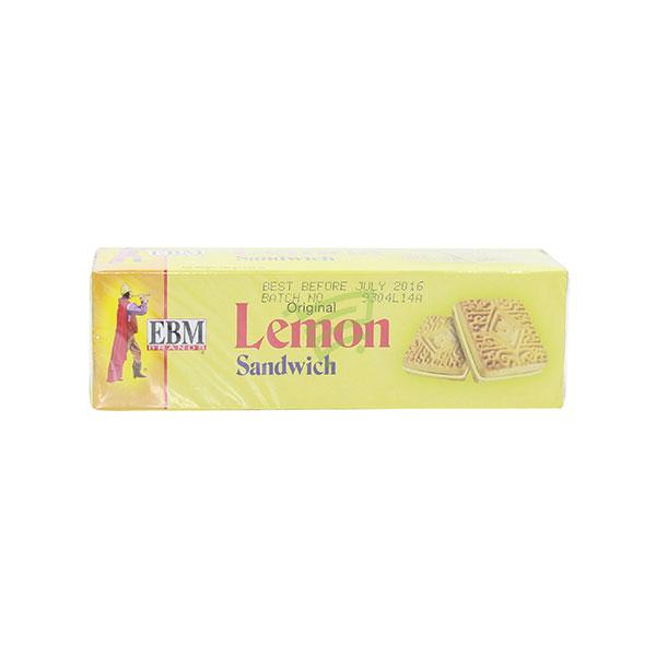 Indian grocery online - EBM Lemon Sandwich 130G - Cartly