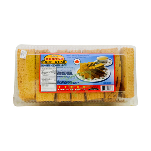 Indian grocery online - Krunch cake rusk 700g - Cartly