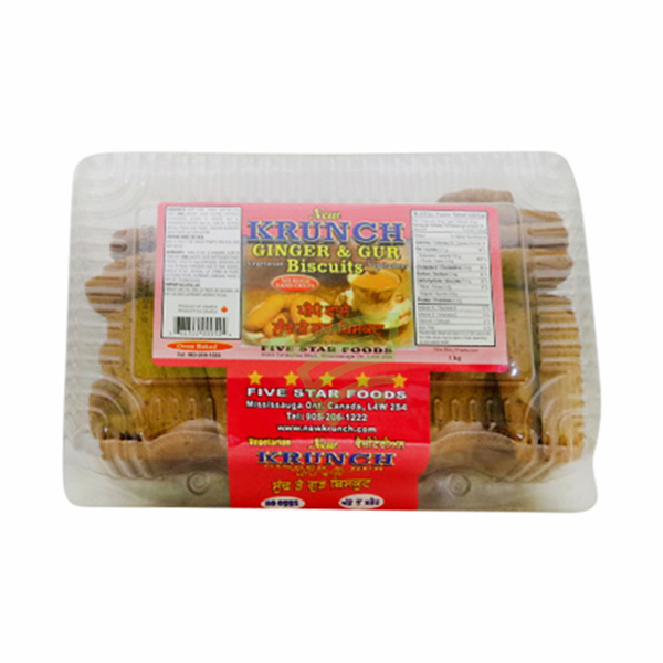 Indian grocery online - Krunch gin&gur biscuits1kg - Cartly