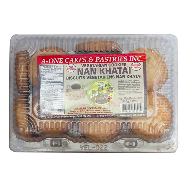 Indian grocery online - A One Nan Khatai 340G  - Cartly